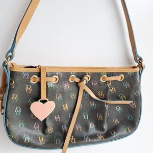 Dooney & Bourke Small Heart purse Bag Coated Canva